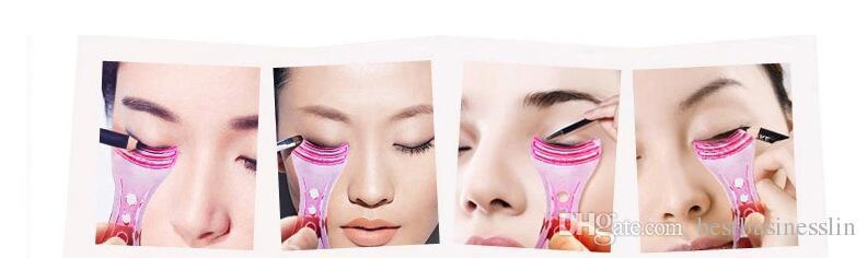 New Arrival Make up Mascara Guide Applicator Eyelash Comb Eyebrow Brush Curler Tools Accessories