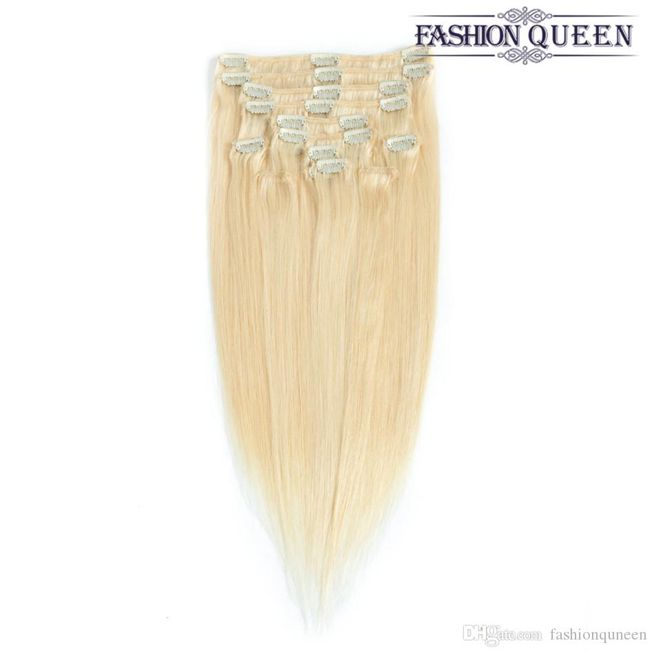 Clip in feather hair extensions uk gallery hair extension hair fashion queen hair clip in hair extensions light blonde full head fashion queen hair clip in pmusecretfo Images