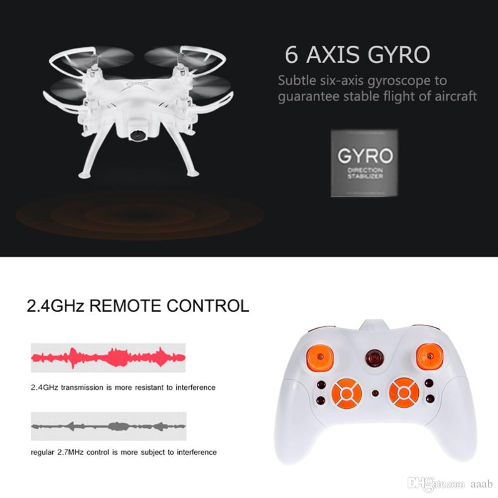 TK106RHW RC Helicopter Quadrocopter UAV 2.4GHz 4CH 6 Axis Gyro Mini Drone Remote Control Multicopter With 0.3MP Camera 720P