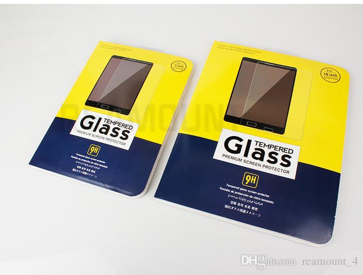 Großhandel Für 10 zoll 8 zoll für gehärtetes glas displayschutzfolie verpackung BOX mit guter qualität karton Verpackung box