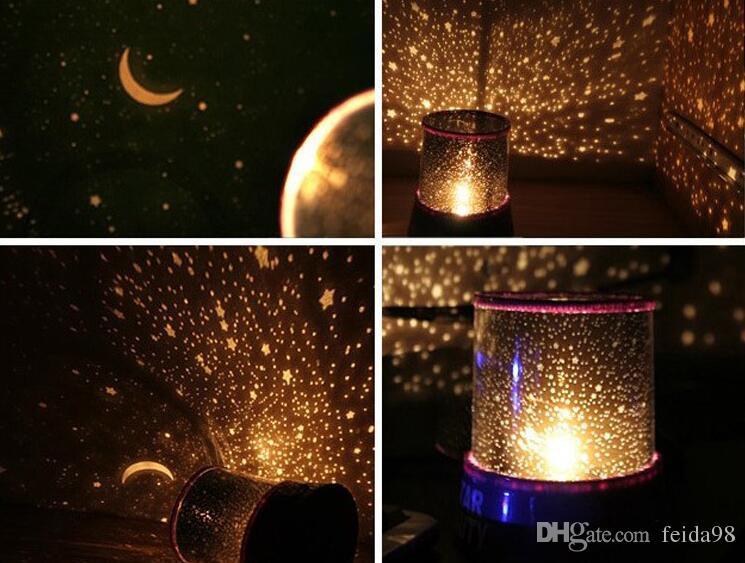 Veilleuse The Sky Star Constellation Projecteur LED Star Master Son Sommeil Lampe Veilleuse Livraison Gratuite G614