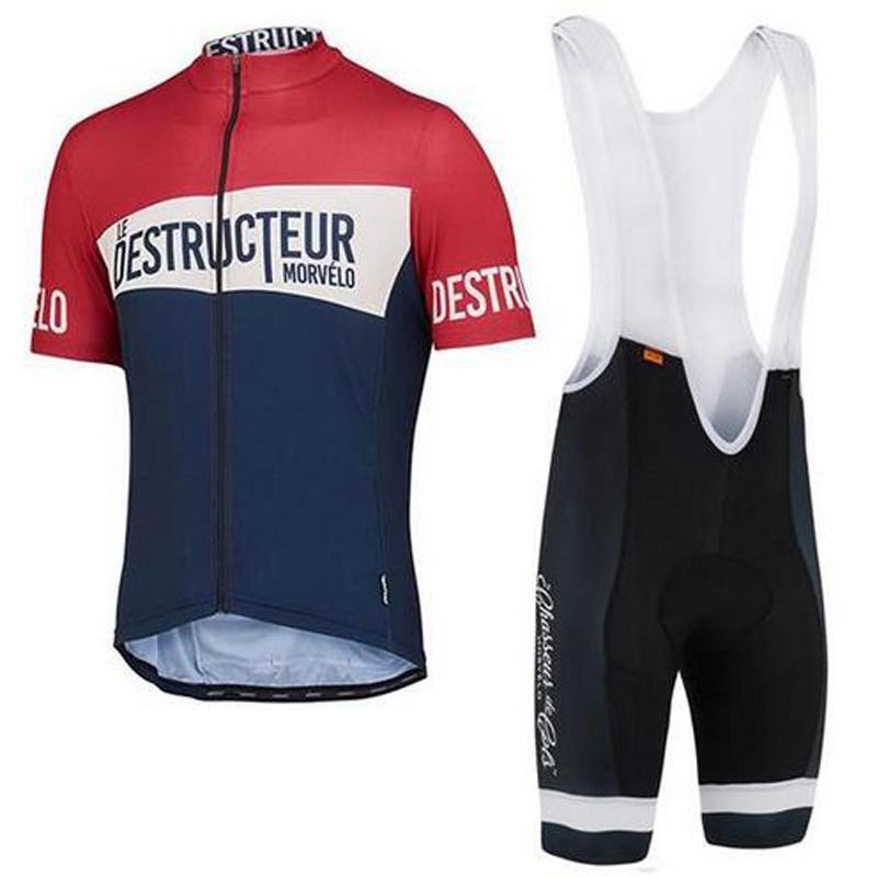 NEW Morvelo Team 2018 Men Cycling Jersey Sets MTB Bike Wear Racing ... cbc6f7c63