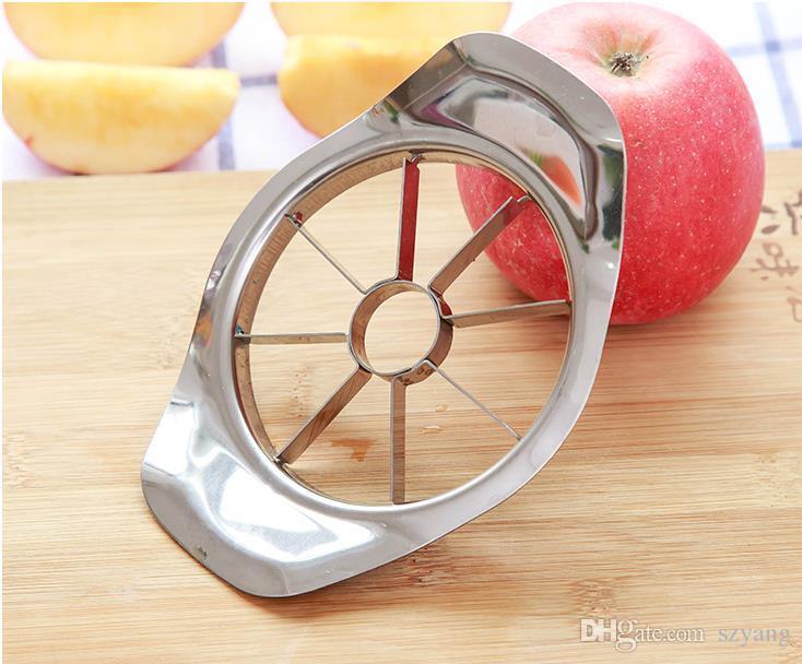 300 adet / grup Paslanmaz çelik apple dilimleyici Sebze Meyve Elma Armut Kesici Dilimleme İşleme Mutfak dilimleme bıçakları Gereçler Aracı