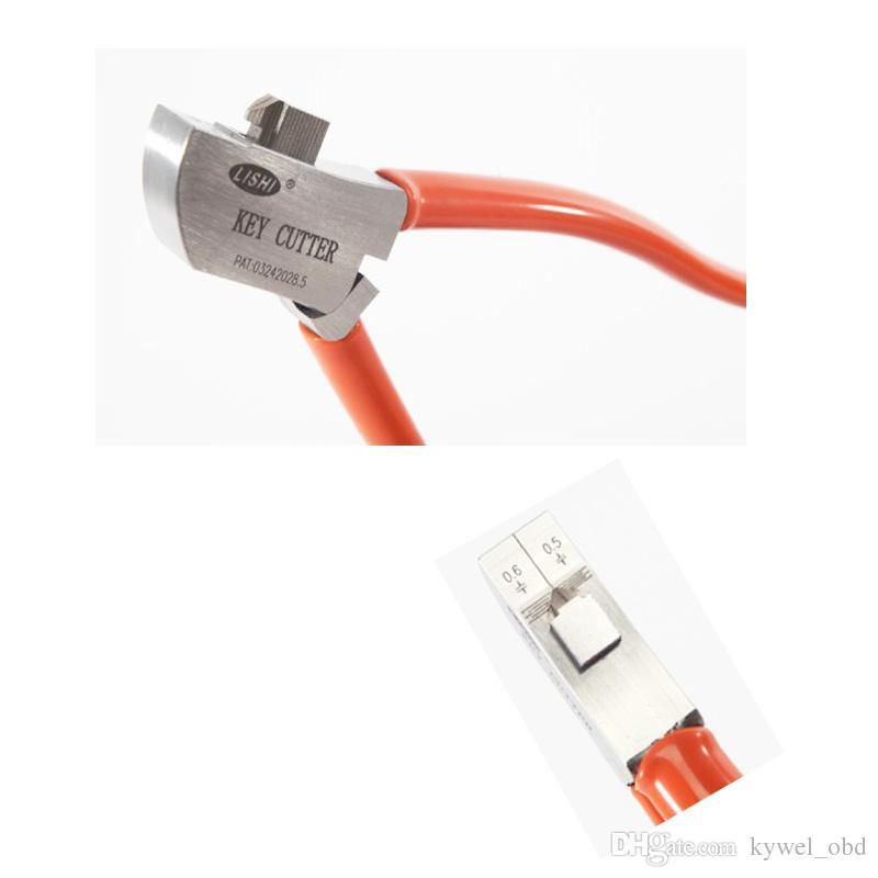 뜨거운 판매 Lishi 키 커터 자동 키 절단 기계 잠금 선택 세트 자물쇠 도구