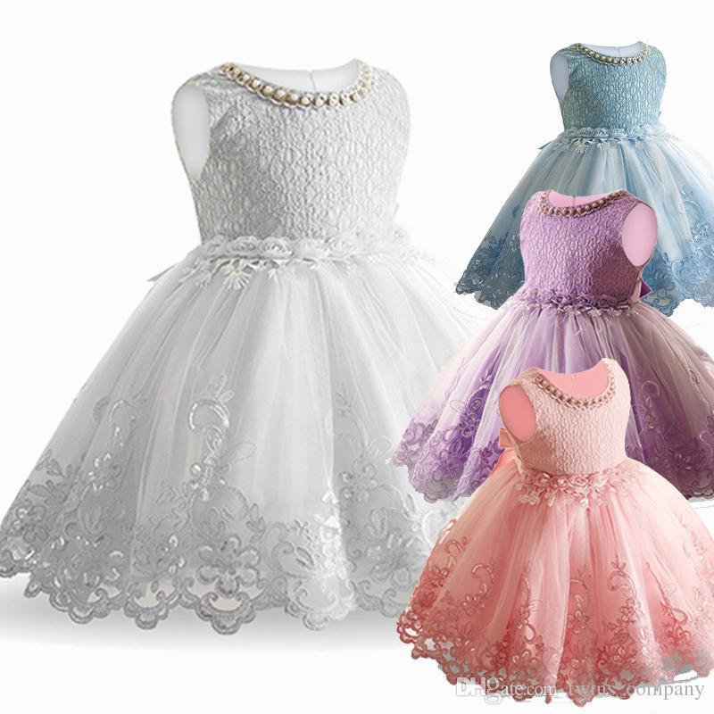 Acheter Dentelle Fleur Formelle Robe De Soirée Fleur De Mariage Princesse  Robe Filles Enfants Vêtements Enfants Robes Pour Fille Vêtements Tutu  Partie De ... ffd6b98721bc