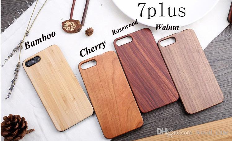 Personnalisé Gravure En Bois Cas De Téléphone Pour Iphone 11 X XS Max XR 8 Couverture Nature Sculpté Bois Bambou Cas Pour Iphone 6 6S 7 Plus Samsung S10e