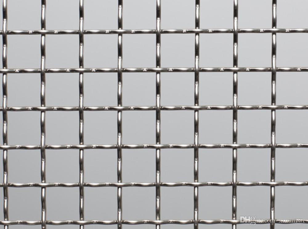2018 2 Mesh Stainless Steel Inter Crimped Mesh High Quality Woven ...