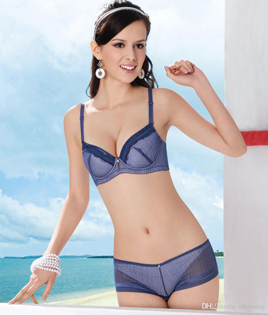 d2171c4c8c74 Women's Lovely Bra Light Push Up Bra Ladies Nice Bra Underwear.Bra  Sets.Thin A-Cup.Three Hook-And-Eye