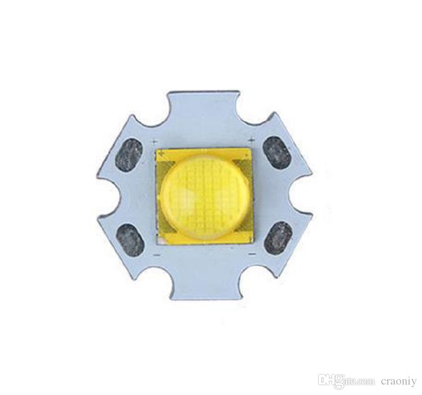 Torcia elettrica LED fai da te Emettitore CREE MT-G2 5000-6500K LED con ventola da 20 mm Base in alluminio cree MTG2 LED Star 6V