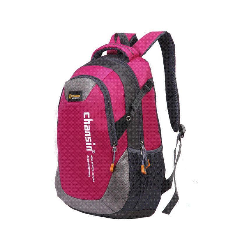 6b088daf4f6a RoyaDong Big Size Backpack Nylon Letters Printing School Bag For ...