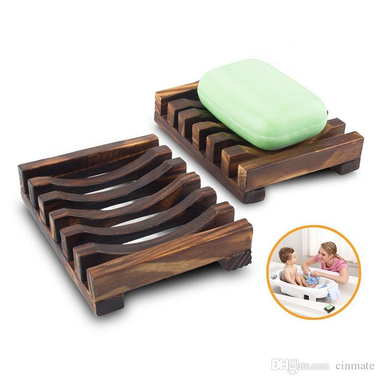 2018 vintage style bathroom soap tray handmade wood dish box wooden soap dishes as holder home accessories bathroom accessories from cinmate 11 dhgate