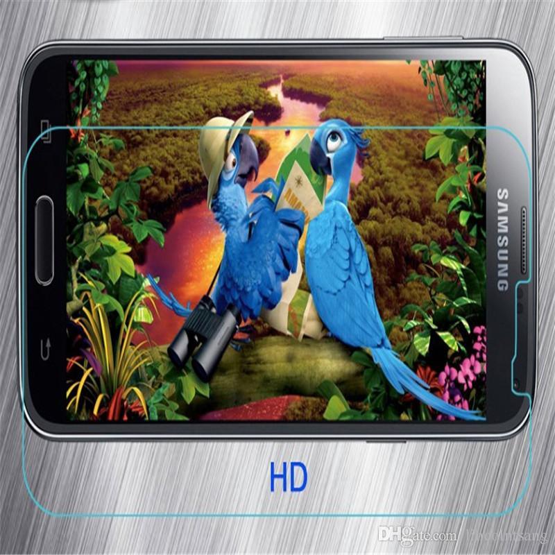 2017 YENI 9 H 0.26 MM patlamaya dayanıklı temperli cam ekran koruyucu için samsung galaxy not 2 3 4 5 7 N7100 N7102 N9009 N9106V Note4 200 adet