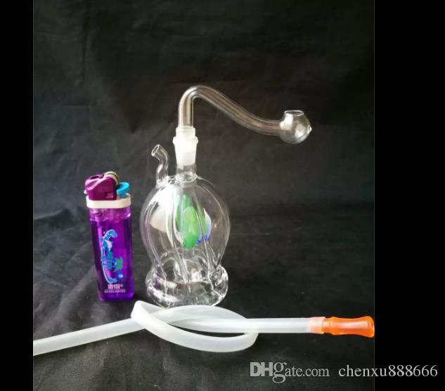 Внутри различных цветочных шлангов бонги аксессуары, стекло водопровод курительные трубы перколятор стеклянные бонги масляная горелка водопровод нефтяные вышки S