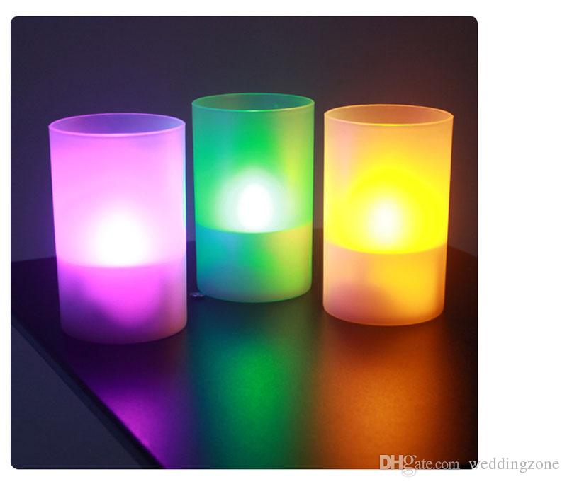 11*6.5*6.5cm solar energy LED Candle For Wedding Party,Christmas Thanksgiving Day Flameless Flickering Tea Light indoor and outdoor Useing