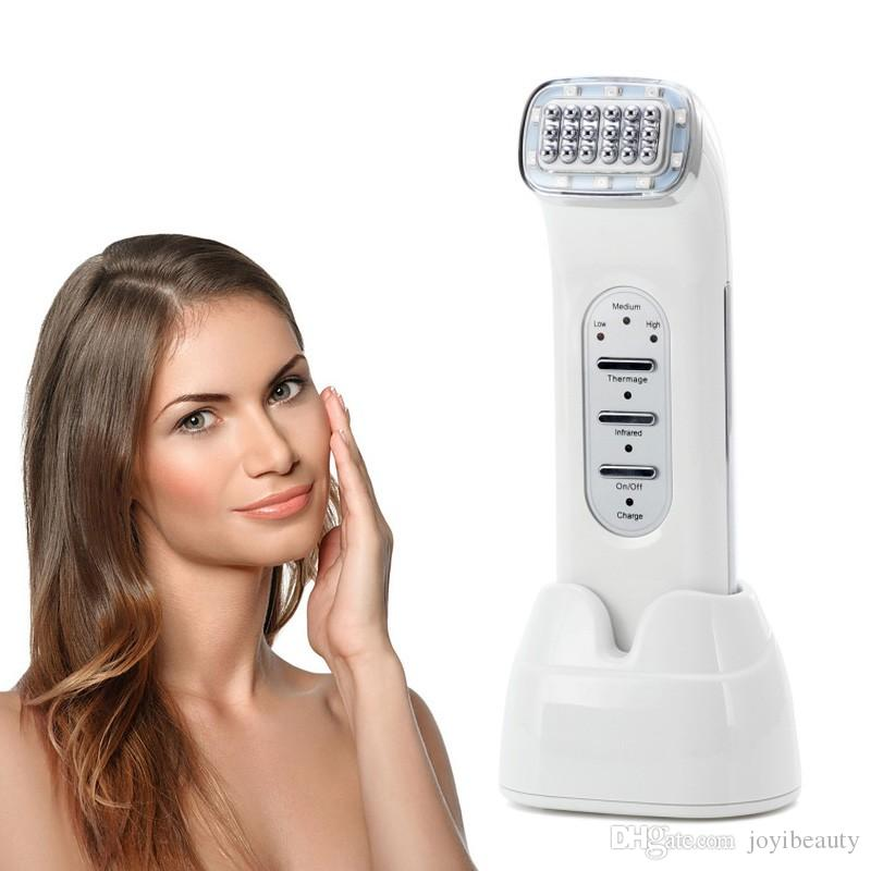 The Best Home Use Mini Portable Fractional RF Radio Frequency Skin Tightening Facial Massager Machine