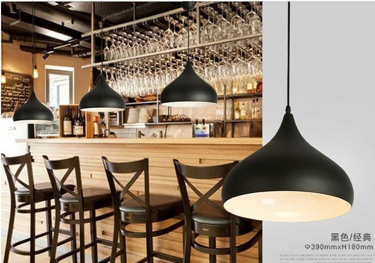 Compre Luces Colgantes Modernas Lamparas Lámpara De Aluminio De ...