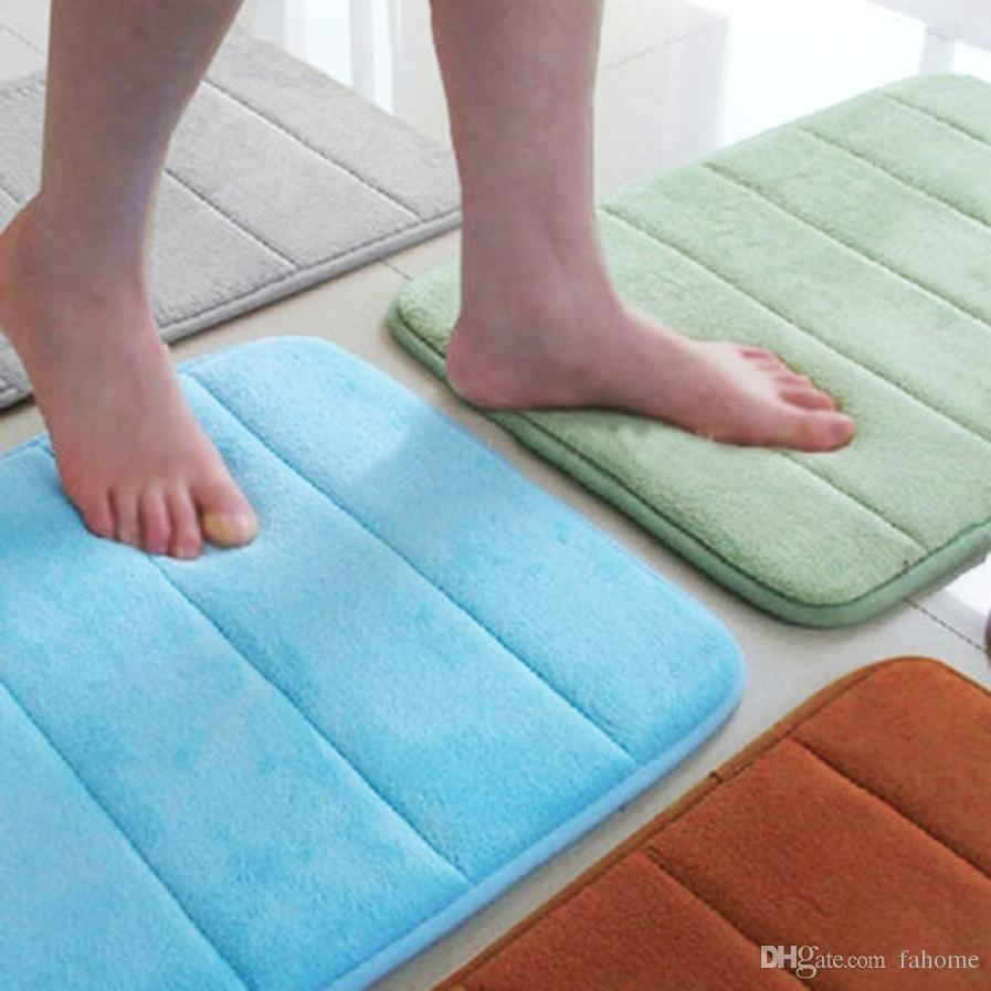 40x60cm Non Slip Floor Mats Bath Shower Carpet Bathroom Rug - 16inch ...