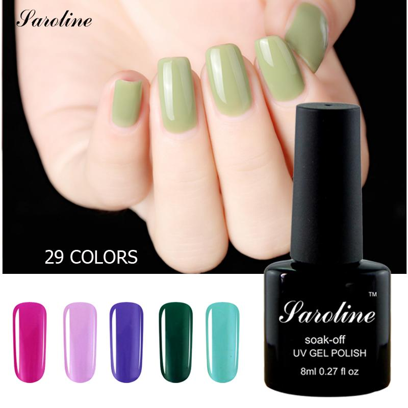 Wholesale Saroline Naked Color Long Lasting Gel Polish Beauty Nails ...