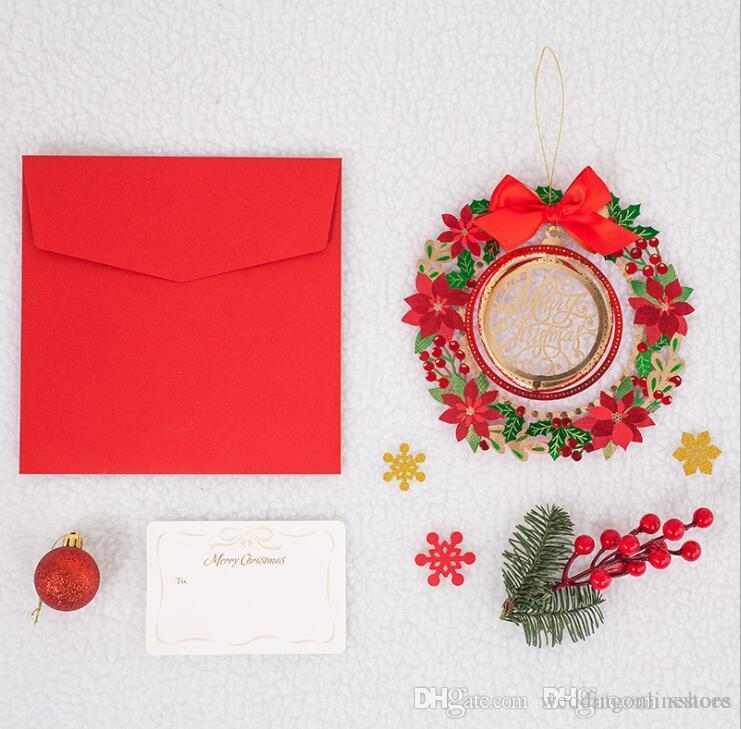 New Design Christmas Decorations Hollow Wedding Invitations Cards ...