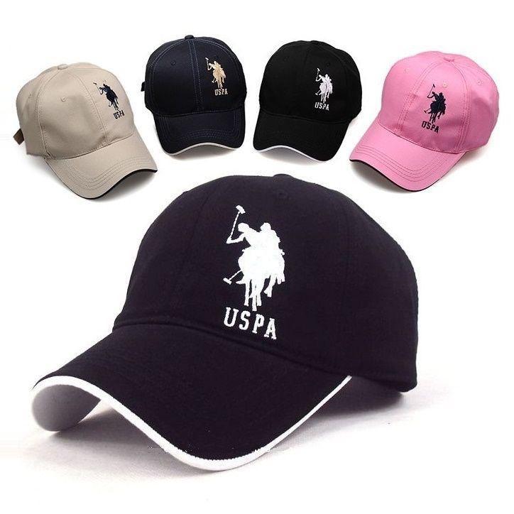 Wholesale- Polo Cap USPA Baseball Cap Sport Hat Gorras Planas ... 18cd5e282c1