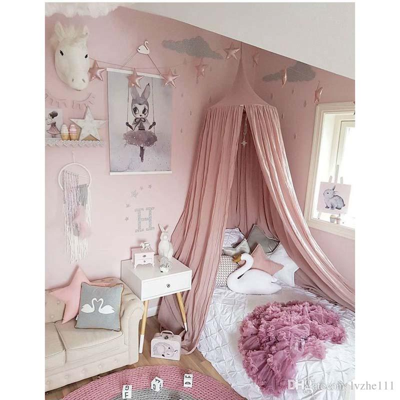 2018 New Baby Kids Bed Canopy Bedcover Mosquito Net Curtain Bedding Dome Tent Cotton 8 Size Kids Bed Canopy Baby Bed Bedcover Dome Tent Online with ...  sc 1 st  DHgate & 2018 New Baby Kids Bed Canopy Bedcover Mosquito Net Curtain Bedding ...