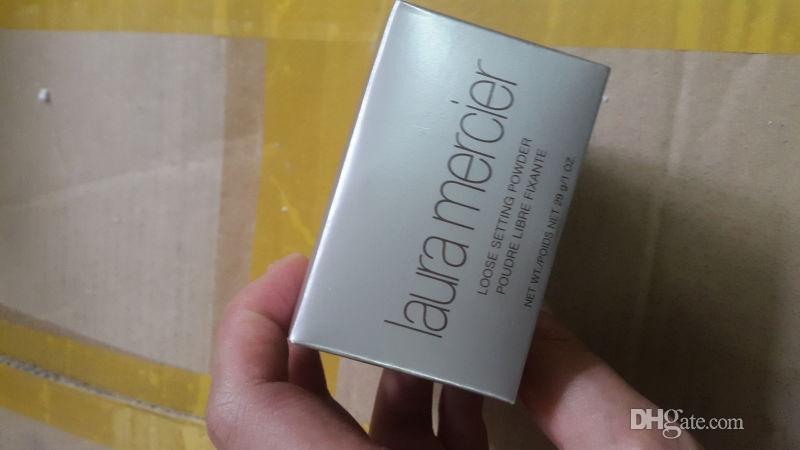 Prezzo all'ingrosso Alta qualità Laura Mercier Foundation Loose Powder Setting Laura cipria in polvere Fix Makeup Powder Min Pore Brighten Concealer