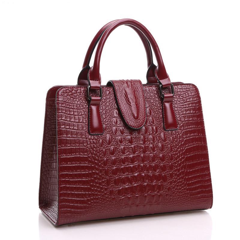 047d1d259168 Wholesale Bags Women 2016 Crocodile Luxury Fashion Designer Top Handle Bags  Bolsa Feminina Women Leather Handbags Messenger Shoulder Bags Hobo Nickel  Hobo ...