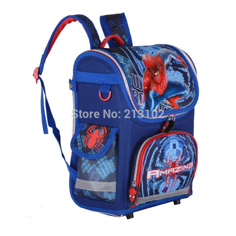 34df3a3bd41 New Children School Bags For Boys Orthopedic Waterproof Backpacks ...