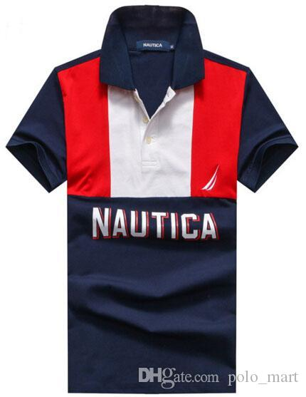 2018 hot sale cotton nautica polo shirts summer 2017 new for Nautica shirts on sale