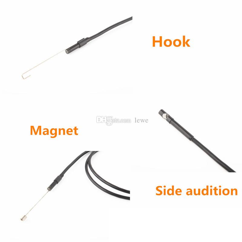 New Brand Waterproof 8mm 200M 720p 8LED WiFI Borescope Inspection Endoscope Snake Tube Camera With 3/5/7/10m Cable for ios android windows