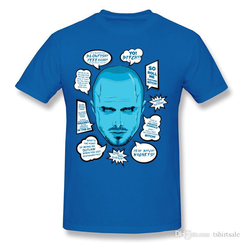 558c80c6cef0 Ocean blue men's t shirt 5xl tshirt short sleeve T Shirts for men crew neck  cotton fabric unique design for guys Jessie quotes
