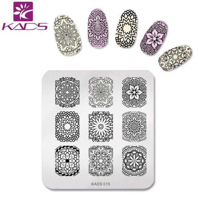 Wholesale Kads Hot Sale Elegant Flower Design Stainless Steel Nail ...