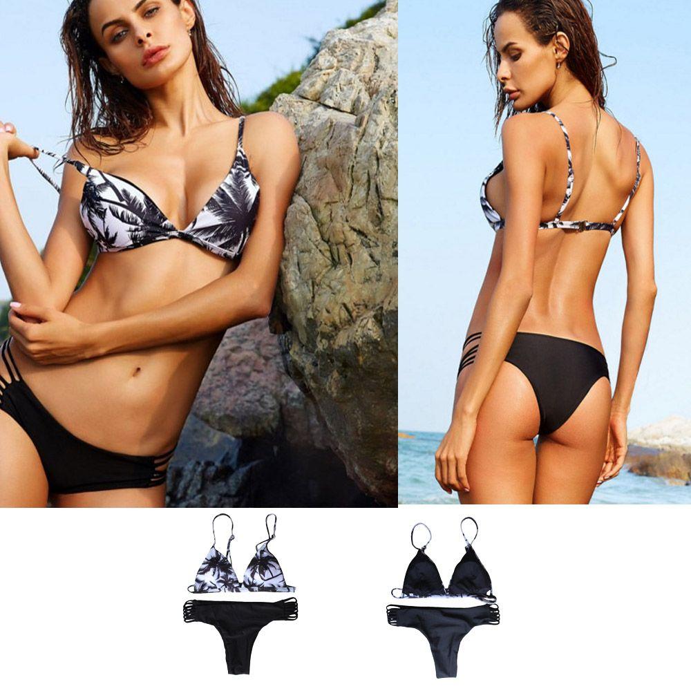914f980e8ff 2019 New Women Swimsuit Bathing Suit Brazilian Bikini Set Hot Swimsuit  Bandage Bikini Sexy Beach Swimwear Maillot De Bain Femme From Jrpeen, $9.55    DHgate.