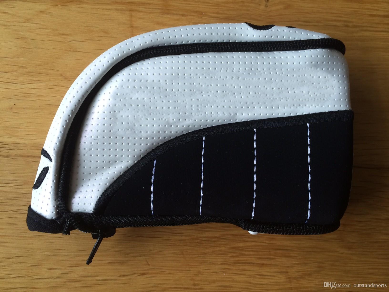 customerized PU Golfeisenabdeckung Reißverschluss unter OEM-Golfschlägerhaube