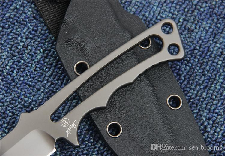2016 Крис Рив фиксированной охотничий нож CPM S35VN 58-60HRC лезвие ручка открытый выживания нож кемпинг походные ножи с K оболочка F927E