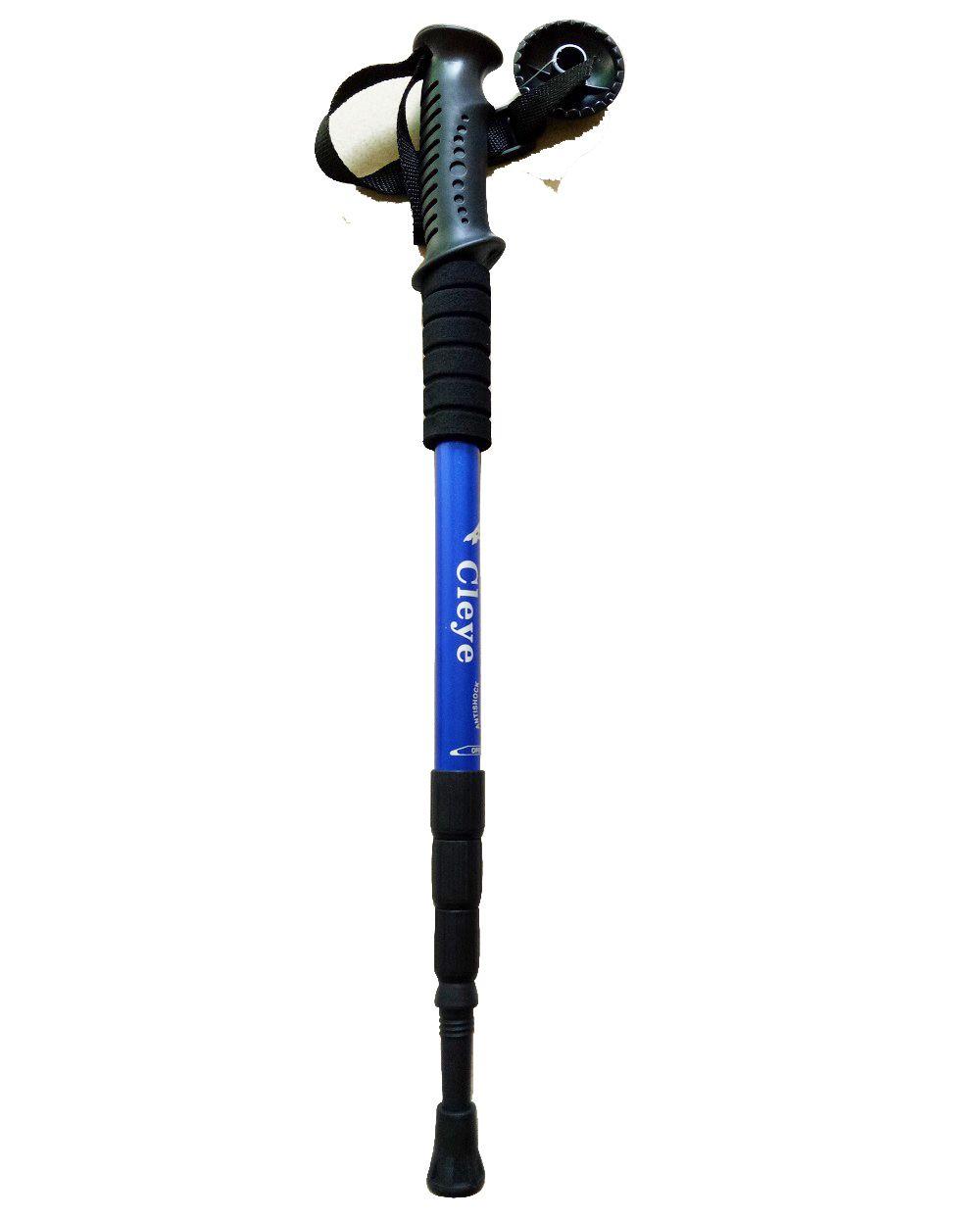 GroßhandelAlleAnil Verstellbare Trekking Wanderköpfe Pole Alpenstock Anti-Shock-Wandern Camping Trekking-Polen Ultraleicht Outdoor-Ausrüstung