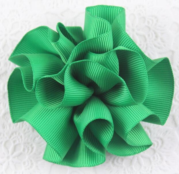 Cloth Flower Love Hair Clip Girl Barrettes Exquisite Handmade Making Easy Group Heart-shape with 5-1