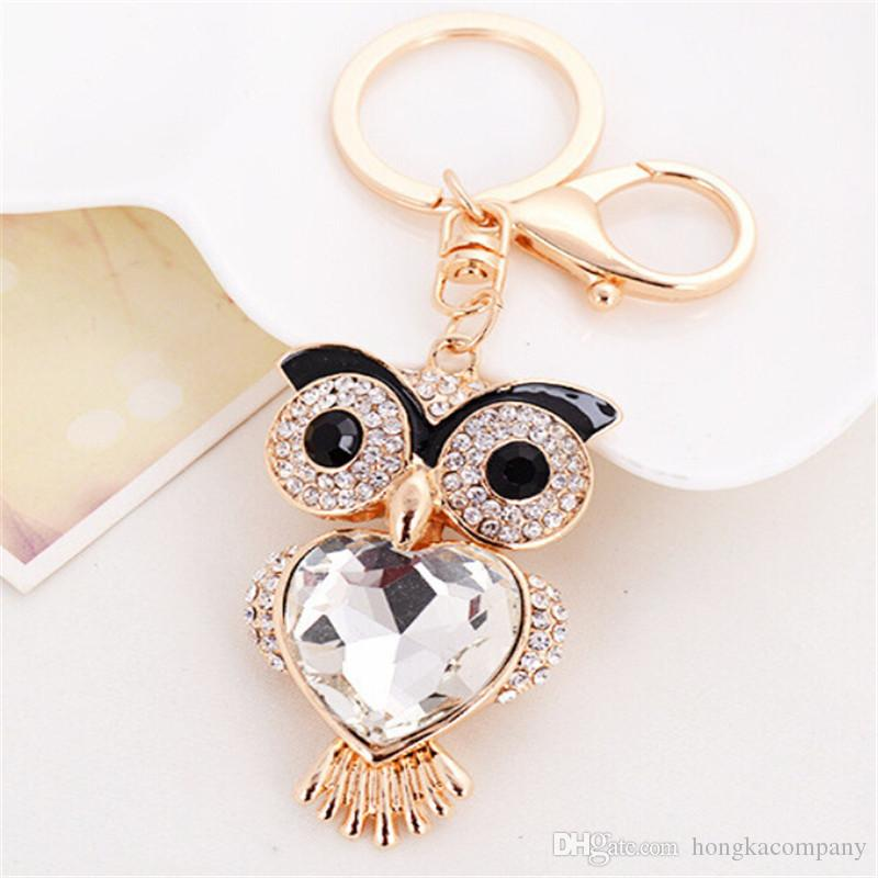 XDPQQ Jewelry Keychain Owl Keyring Stereo Crystal Jewelry Gift Wallet Car  Pendant Men And Women Joker Pendant Factory Direct UK 2019 From  Hongkacompany 3aac4e46ef
