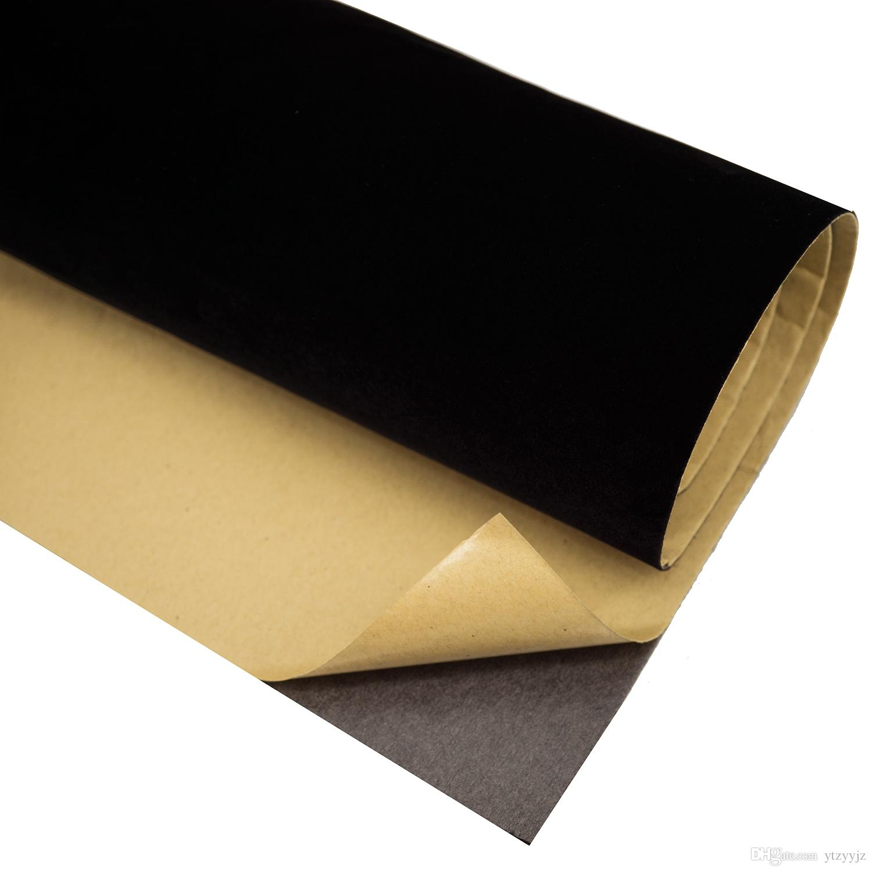 Acquista carta da parati autoadesiva in velluto nero carta for Carta da parati in velluto