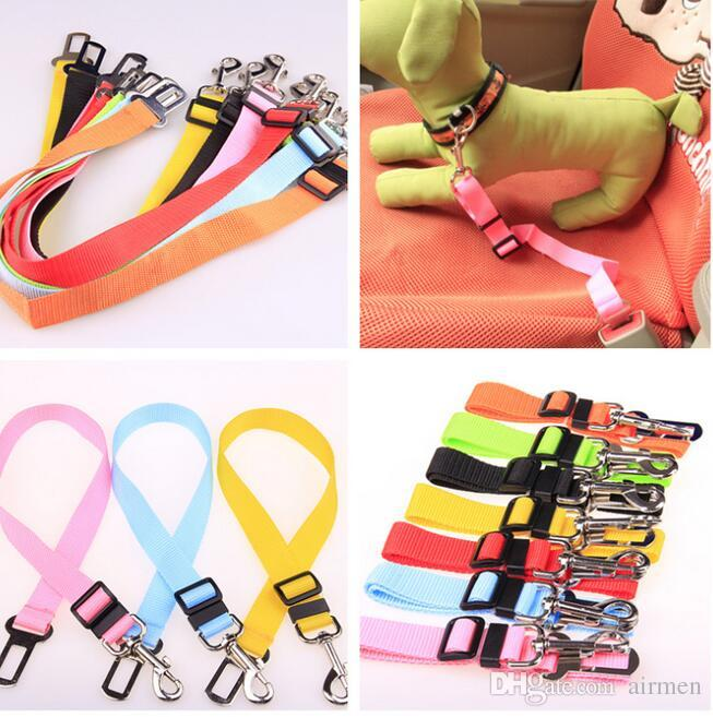1.5X 75CM Adjustable Car Vehicle Safety Seatbelt Seat Belt Harness Lead for Cat Dog epacket free