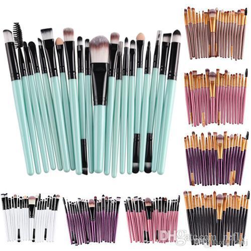 Eyeshadow brushes set