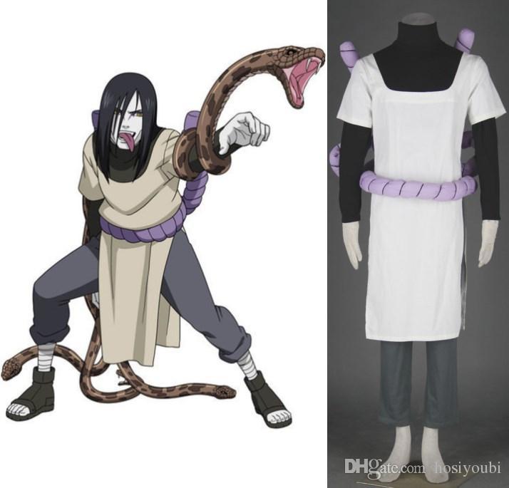 naruto orochimaru cosplay costume halloween costumes quality cosplay
