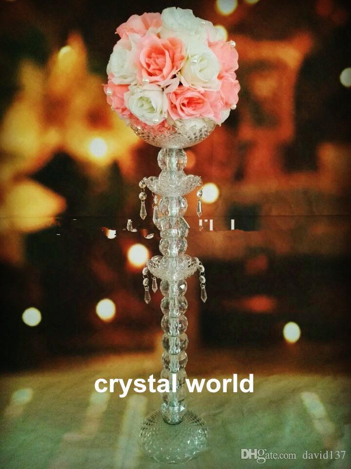 Centro de mesa de flores para boda, 789 centro de mesa de boda de cristal 345
