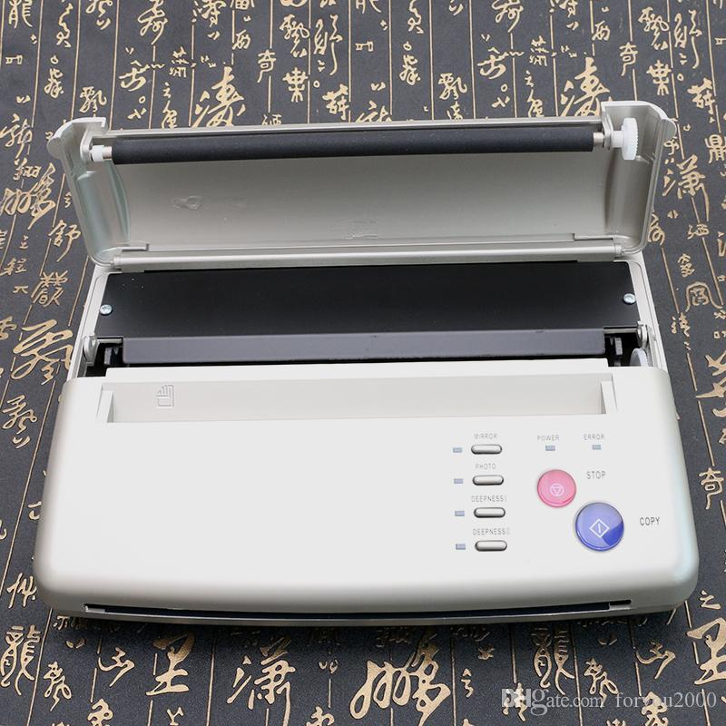 High Performance Silver Tattoo Thermal Copier Stencil Copy Tattoo Transfer Machine for A4 Size Copy Paper TC206