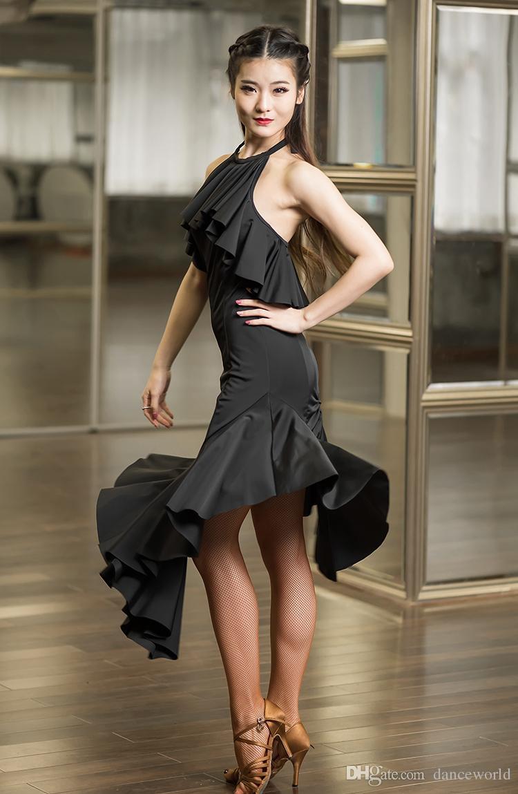 2018 robe de danse latine robes de danse latine à vendre Robe pour costume de Latina pour le costume de danse salsa tango robe de salsa rumba