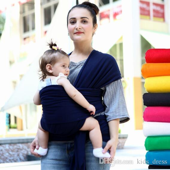 2018 Baby Wrap Carrier Infant Breastfeed Gear Sling Carrier Backpack