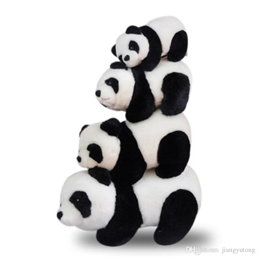 Cute Panda Soft Plush Toys Animal Stuffed Small Baby Dolls Pelucia Animais  Birthday Gift Spielzeug Sleep Toys For Babies 70G0299 UK 2019 From  Jiangyutong 32d6872d38ff