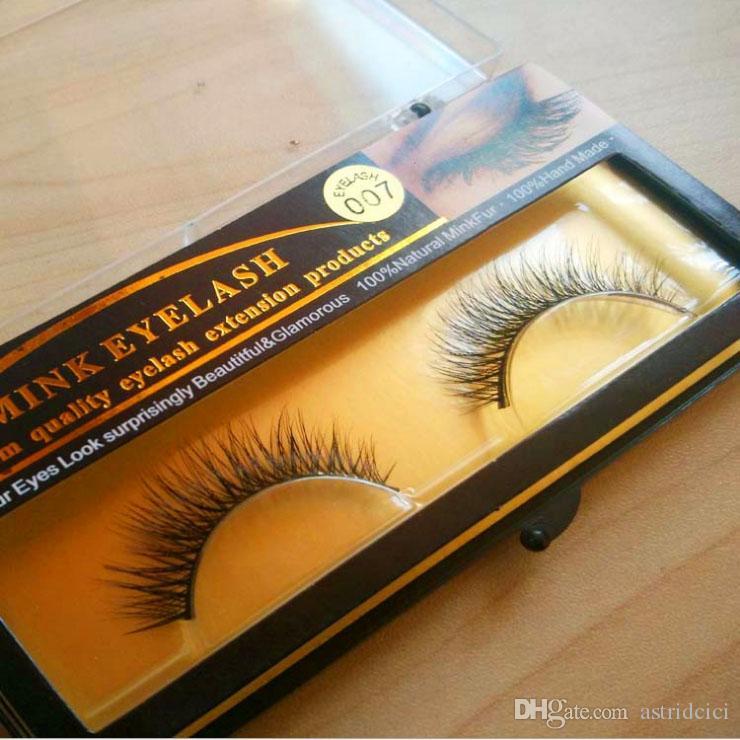 3D Handmade Mink Eyelashes individual Natural False Eyelashes for Beauty Makeup fake Eye Lashes Extension Thick Dense Fake lashes