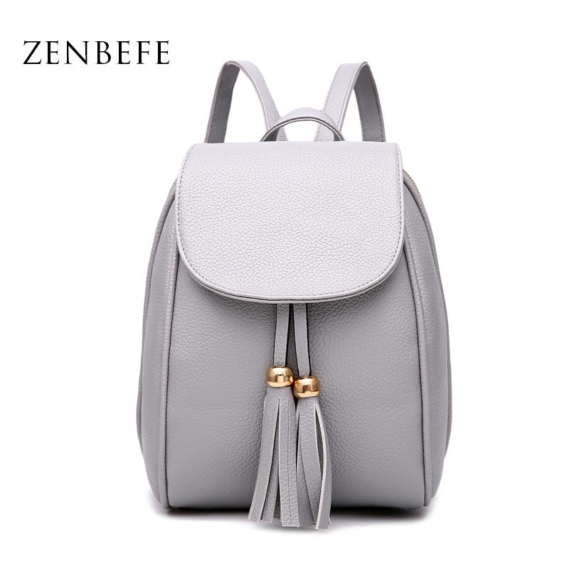 Wholesale ZENBEFE Mini PU Leather Women S Backpack Casual PU Ladies  Backpacks Candy Color Women Bag Small Backpack For Women Daily Bag Tactical  Backpack ... e7673f078df1c