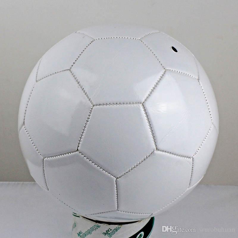 Satın Al Beyaz Boyutu 5 Pvc Futbol çocuk Oyuncak Maç Eğitim Futbol